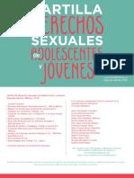 Cartilla Derechos Sexuales y Derechois Reproductivos Red Elige 2017