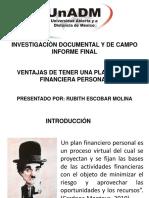 Presentación de Informe Final