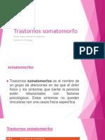 Trastornos Somatomorfo-mayo 2018