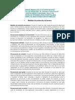 Medidas Proteccion Barrera IMMSS