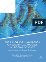 The Palgrave Handbook of Quantum Models in Social Science Applications and Grand Challenges