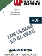 Los Climas en El Perú