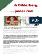 El Club Bilderberg , el Poder Real