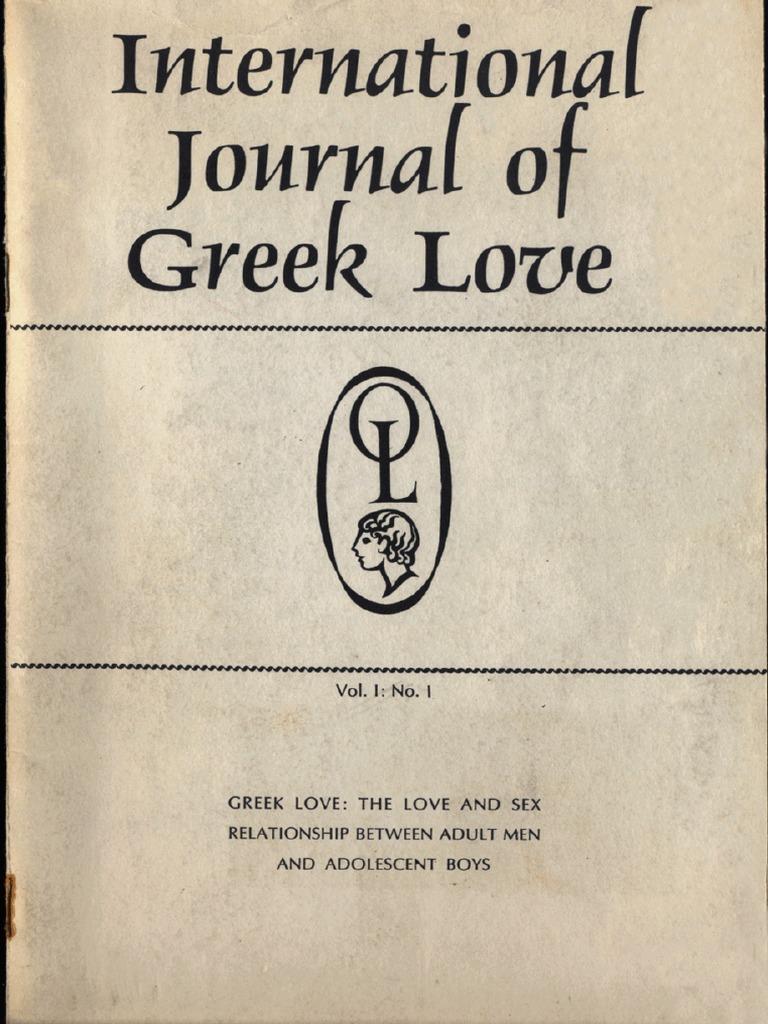 International Journal Of Greek Love Vol 1 No 2