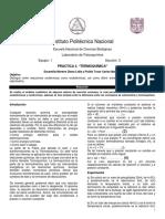 Práctica 4 - Termoquímica