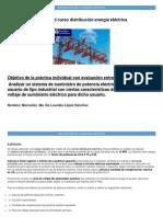 Actividad Curso Distribución Energía Eléctrica