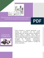 quimica de cosmeticos