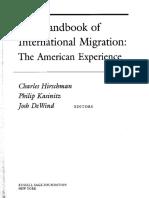 HIRSCHMAN, KASINITZ e DeWIND. The Handbook of International Migration.pdf