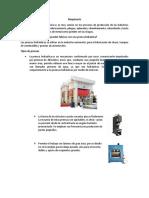 Maquinaria-caracteristicas(embutido)