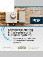 The AMI energy billing report
