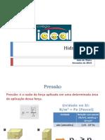 hidrostática - 3EM