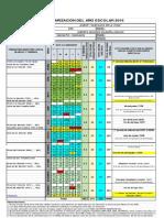 Calendarizacion Garcilaso de La Vega