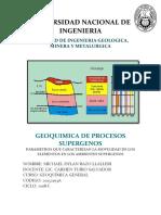 GEOQUIMICA INFORME 3