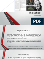 The School Presentation