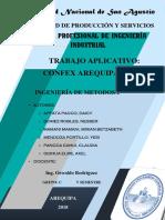 ANÁLISIS  DE EMP. CONFEX (MÉTODOS1)