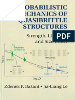 B7-Probabilistic Mechanics of Quasibrittle Structures