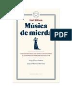 Musica de Mierda - Wilson, Carl