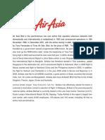 AIRASIA Investment