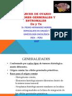 CA Ovario Germinal y Estromal Dx y TX Dr. Hernández Mar 2017