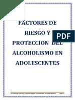 Factores de Riesgo y Proteccion Del Alcoholismo Grupo 2