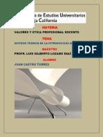 Sintesis Teorica Alumno Juan Castro Torres Aula 4 Ceubc
