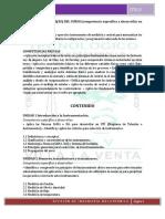 Temario de Instrumentación 2018