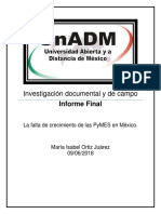 Investigación Documental y de Campo