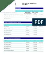 Cim Exam Timetable June July 2018 Final v2