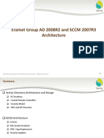 Eramet Group AD 2008 and SCCM 2007R3 Architecture
