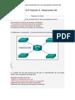 CCNA 1 Cisco v6.0 Capítulo 8 - Respuestas Del Exámen