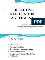 Collective Negotiation Agreement
