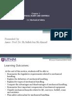 Chapter 3_3 OSH Mechanical Safety