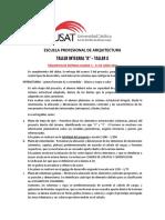 Detalle Requisitos Rubrica Taller Integral