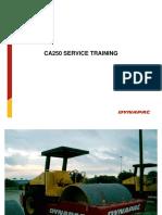 Dynapac Ca250 Service Training