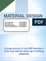 Tesp Material Design Ppt
