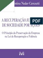 A Recuperacao Judicial de Sociedade Por Ac - Sheila Christina Nede Cerezetti