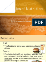 Principles of Nutrition