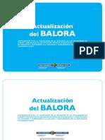 Actualización del BALORA