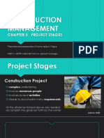 Project Stages for Presentation