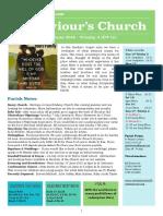 st saviours newsletter - 10 june 2018