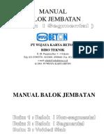 Manual Balok buku 2 - Segmental.pdf