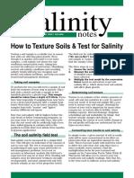 Texture Salinity