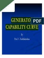Generator Capability Chart