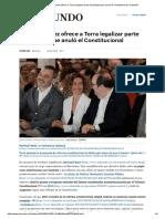 Pedro Sánchez Ofrece a Torra Legalizar Parte Del Estatut Que Anuló El Constitucional