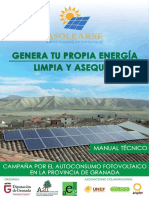 Manual Tecnico Autoconsumo ESFV Granada