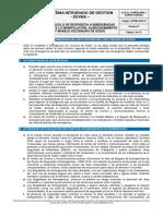 SSYMA-D03.18 Protocolo de Respuesta a Emergencias Manipulacion Almacenamiento Manejo Cianuro