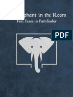 The Elephant in the Room Feat Taxes in Pathfinder