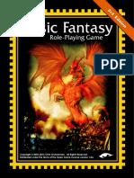 Basic Fantasy RPG Rules 3rdEd Cover r107