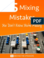 35 Mixing Mistakes You Don t Know You Re Making