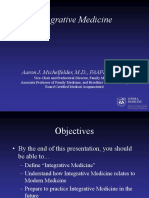 HandOut WebVersion IntegrativeMedicineMichelfelderPCM3 Oct 07